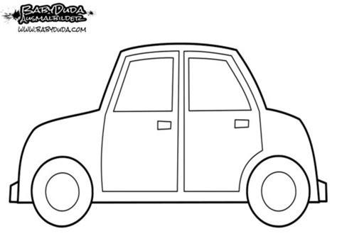 Ausmalbild Ente Auto by Ausmalbilder Auto Malvorlagen F 252 R Kinder Babyduda