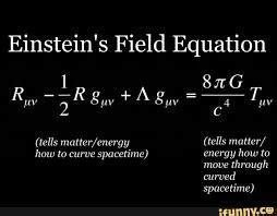 what is the intuition behind the einstein's field