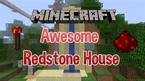 minecraft redstone house maps 1 4 only minecraft awesome redstone piston house one of the best youtube