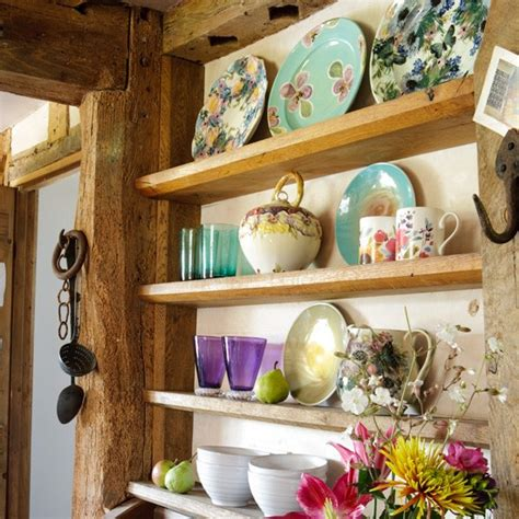 Country Vintage Kitchen vintage kitchen display kitchen storage decorating ideas