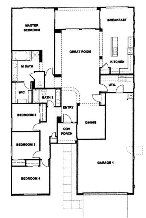 verde ranch floor plan 2780 model 4 bedroom ranch floor plans home mansion