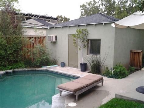 garage pool house garage to pool house conversion