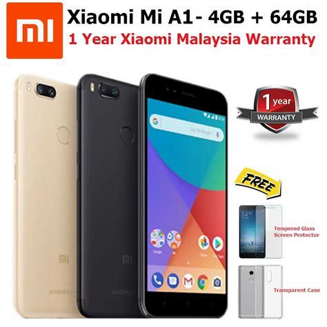 Xiaomi Mi A1 Ram 4gb 64gb Black Garansi Resmi xiaomi mi a1 smartphone 4gb ram 64gb original xiaomi malaysia warranty shopee malaysia
