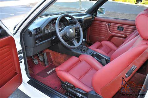 Bmw M3 White Interior by 1988 Bmw E30 M3 Quot Evo Iii Spec 2 5l Engine Quot