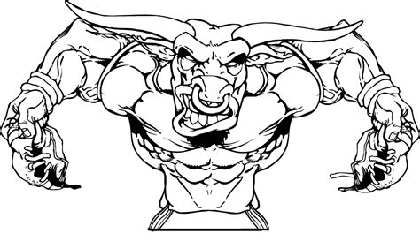 college football mascots free coloring pages