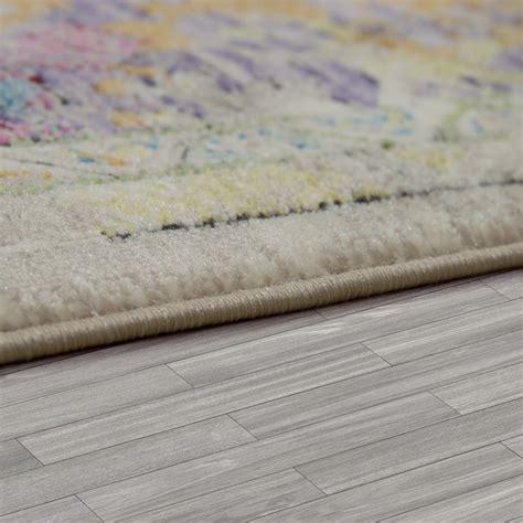 trend teppich trend teppich orient stil multicolor hochwertig schimmer