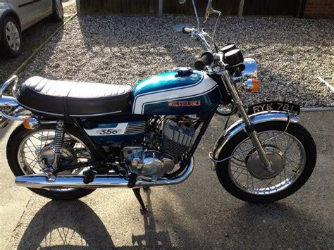 restored suzuki t350 1973 photographs at classic bikes