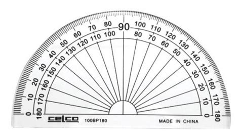 Penggaris Faber Castell 15 Cm protractor 10cm 180 degrees celco clear harleys the