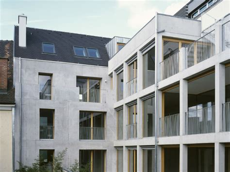 apartment design by architects h27d is a zero waste urban infill apartment building in