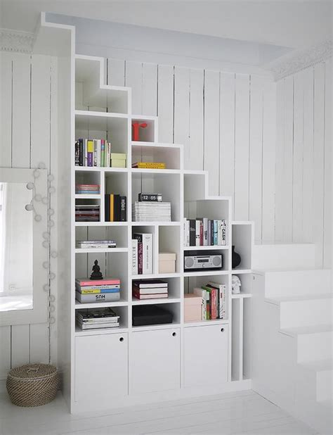 Best Bookcases For Small Spaces best shelving ideas for small spaces domino