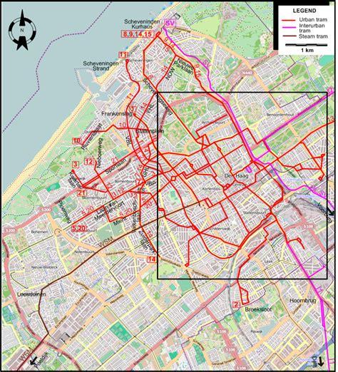 netherlands map den haag den haag the hague 1932