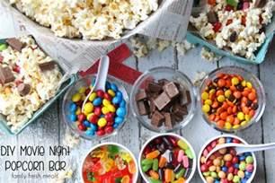 S Themed Party Decorations - diy movie night popcorn bar family fresh meals
