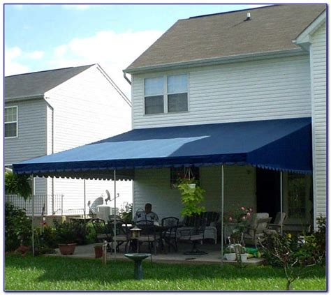 diy patio awning ideas patios home design ideas