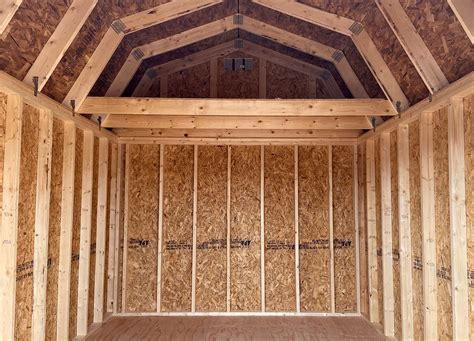 lofted barn yoders storage sheds portable buildings