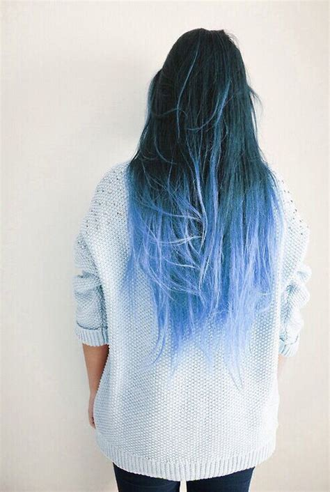hairstyles dip dyed hair hair trends 2015 10 hottest blue dip dye hair colors for