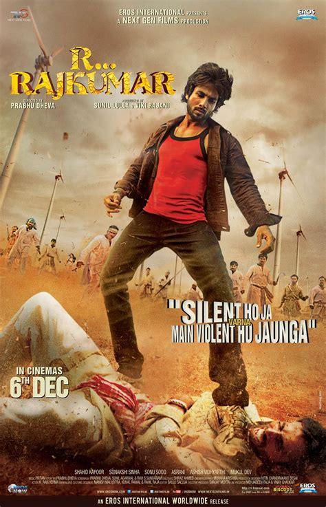 film rambo rajkumar rajkumar shahid kapoor movie posters and trailer
