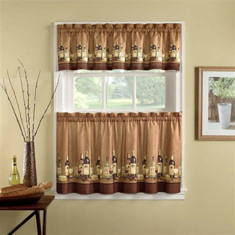 walmart curtains valances and tiers farmhouse country