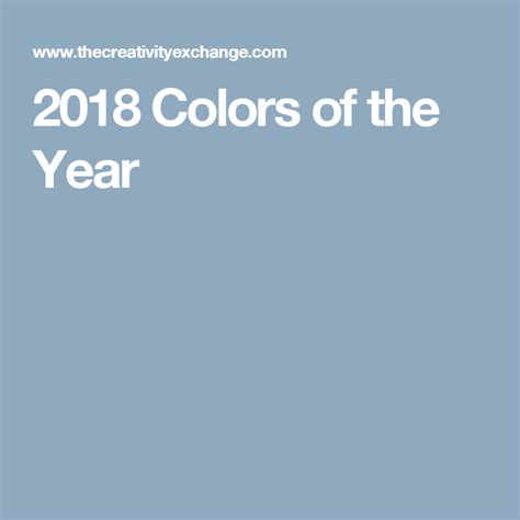 2018 colors of the year indoor paint decorating and color palate