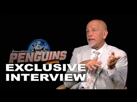 john malkovich youtube interview penguins of madagascar john malkovich quot dave quot exclusive
