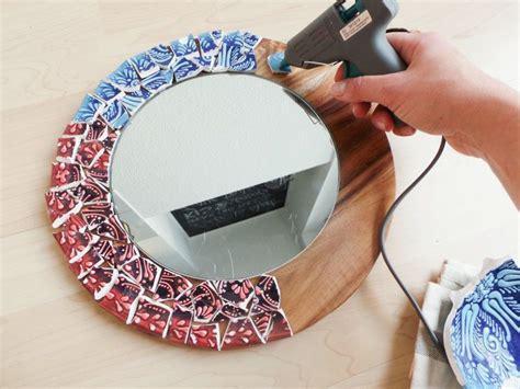 spiegel gestalten mosaik spiegel selber machen
