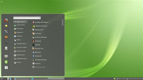 Linux Mint L by File Cinnamon 1 4 On Linux Mint 12 Png Wikimedia Commons