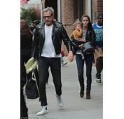 Jeff Goldblum And Wife Emilie Livingston Take Baby Charlie