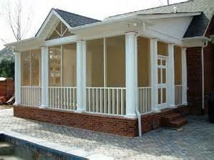Screened Porch Plans by Outdoor Screened Porch Plans Ideas Screened In Porch
