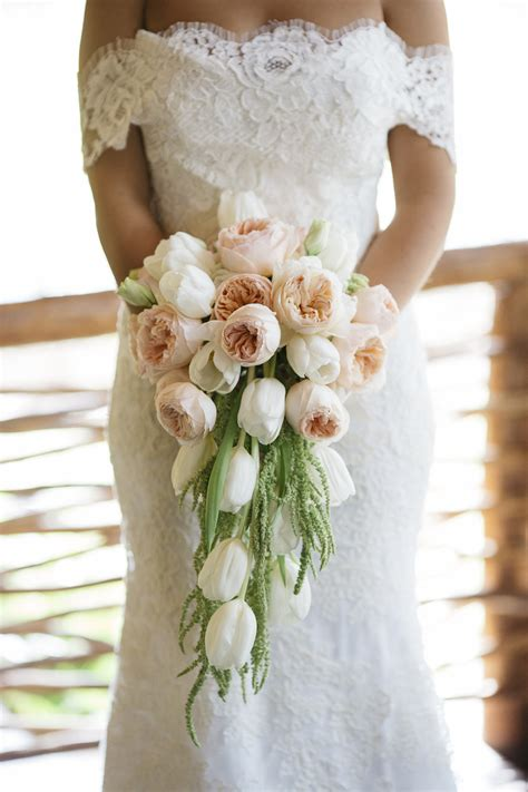 Cut Flowers Wedding Bouquet by Wedding Flowers Gorgeous Cascading Bridal Bouquets