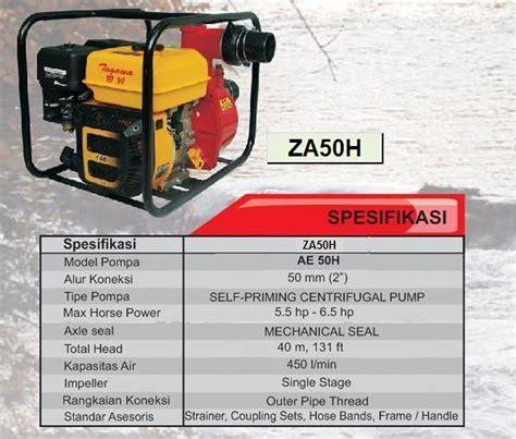 Harga Pompa Air Untuk Irigasi Tetes by Harga Jual Tagawa Za50h Pompa Air Irigasi