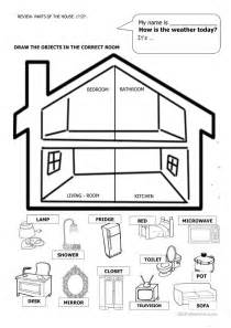 home design worksheet house and furniture worksheet free esl printable