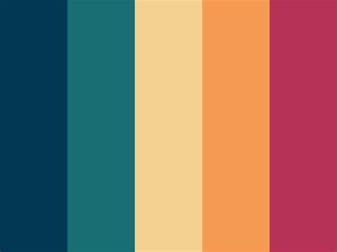 autumn color palette autumn color palette quot blue poppy quot art design color