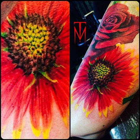 tattoo flower indian 15 indian blanket flower1 tattoos pinterest blankets