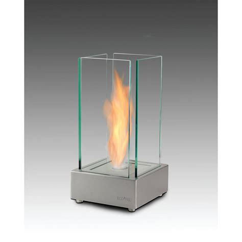 Ethanol Tabletop Fireplace by Cartier 7 In Ethanol Tabletop Fireplace In Matte Black Tt