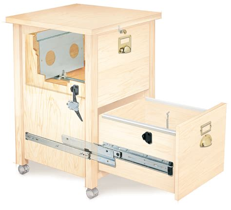Woodworking Plans For File Cabinet