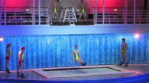 dive shows oasis of the seas water high dive show