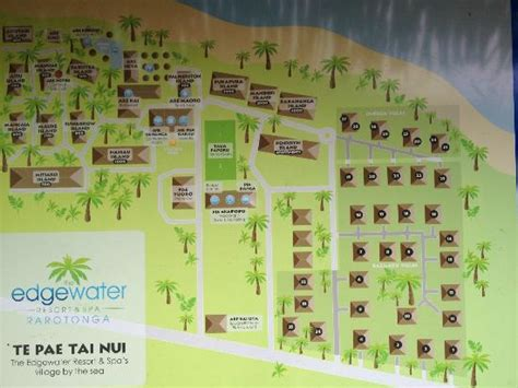 edgewater resort map edgewater map and layout picture of the edgewater resort