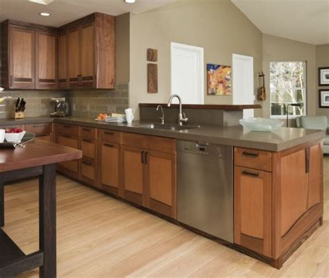 bay area kitchen cabinets contemporary u shaped taupe kitchen oak cabinets 50 000