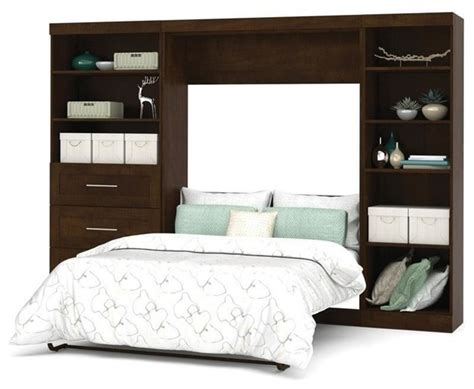 contemporary murphy beds bestar bestar pur wall bed kit chocolate view in your