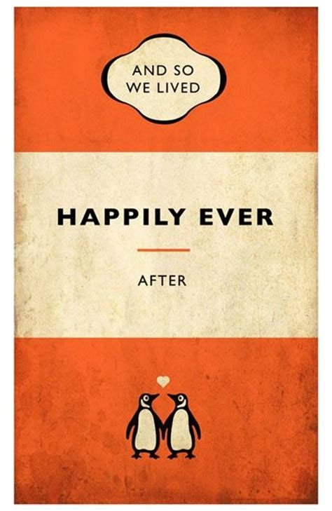tom and happily after books penguin style book poster signed limited edition print
