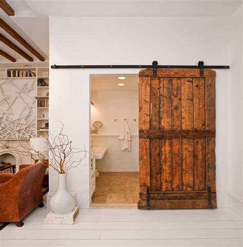 Sliding Barn Door Unique Rustic Touch For The Home Rustic Sliding Barn Doors