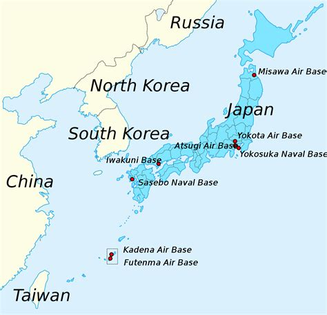 us air bases in korea map file major us bases in japan svg wikimedia commons