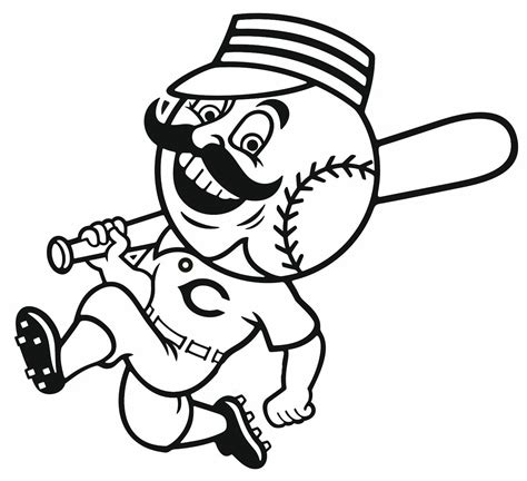 coloring pages nfl mascots free coloring pages of baseball mascots