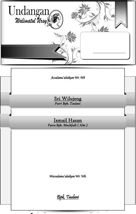 Undangan Walimatul Ursy [simple].docx | Undangan, Contoh