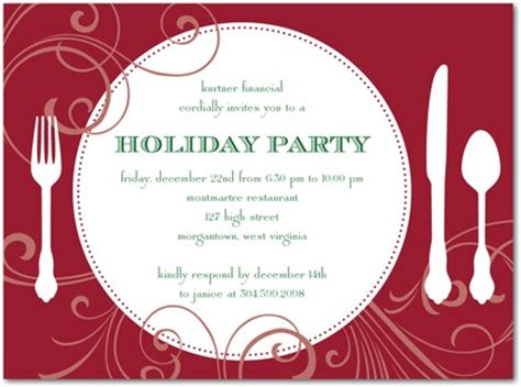 christmas party announcement for work work invitation for