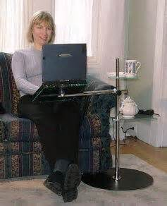 Swing Away Laptop Desk Best Review Standard Airdesk Laptop Desk For Any Chair Recliner Or Sofa
