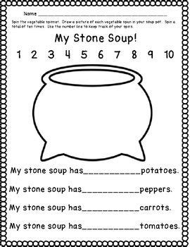 Stone Soup Literacy And Math Activities Tpt Math Lessons