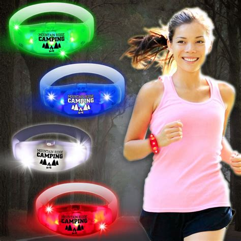 Voice Sensor Lu Led For Diorama sound activated led stretchy bangle bracelet badges bracelets necklaces rings