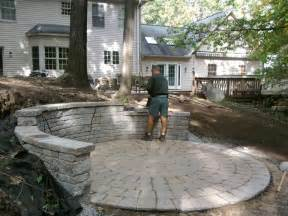 Diy Patio Pavers Do It Yourself Paver Patio Installation A Idea Tomlinson Bomberger