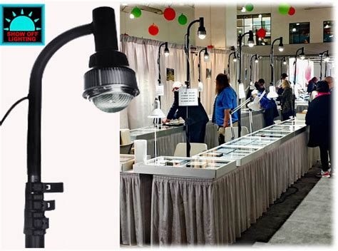 led lights for trade booths trade booth lighting portable led display light