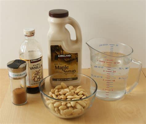 Almond Rawalmond Milk how to make almond milk step by step recipe oh nuts